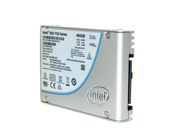 Intel® SSD 750 Series  (400GB, 2.5in PCIe 3.0, 20nm, MLC)