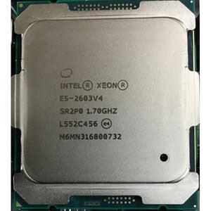 Intel Xeon E5-2603 v4 (15MB Cache, 1.70 GHz, 6-Core, LGA2011-3)