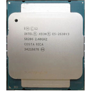 Intel Xeon E5-2630 v3(20MB Cache, 2.40GHz, 8-Core, LGA2011-3)