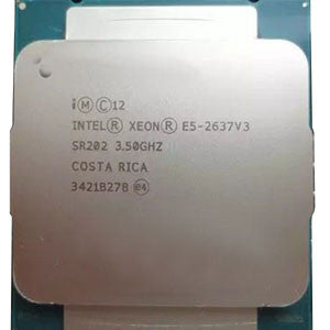 Intel Xeon E5-2637 v3(15MB Cache, 3.50GHz, 4-Core, LGA2011-3)