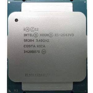 Intel Xeon E5-2643 v3 (20MB Cache, 3.40GHz, 6-Core, LGA2011-3)