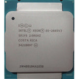 Intel Xeon E5-2685 v3 (30MB Cache, 2.60GHz, 12-Core, LGA2011-3)