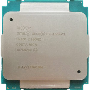 Intel Xeon E5-4669 v3 (45MB Cache, 2.10GHz, 18-Core, LGA2011)