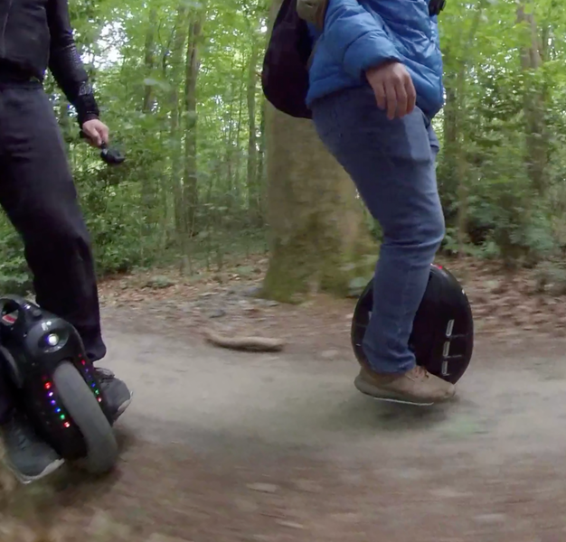 Off-roading with the MCM5? Nope!
