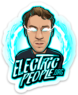 Electric People Sticker-Speedy Feet-Speedy Feet