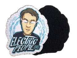 Electric People Velcro Patch-Speedy Feet-Speedy Feet