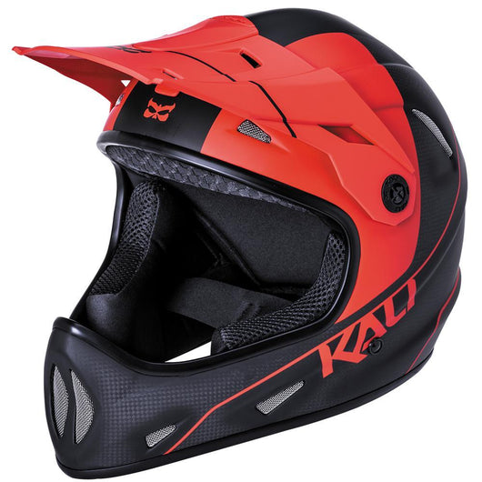 Kali Alpine Carbon Pulse Matt Black & Red-Kali-Speedy Feet