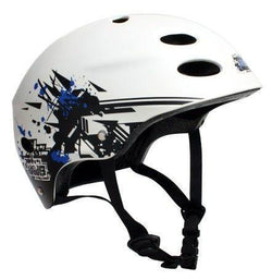 MBS HELMET - GRAFSTRACT White