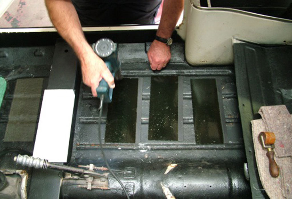 'How to' Apply Your Bitumen Sound Deadening Pads