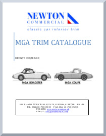MGA INTERIOR TRIM CATALOGUE