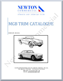 MGB INTERIOR TRIM CATALOGUE