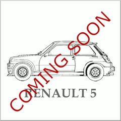 Renault 5, GT, R5,Turbo, Hot Hatch, Moulded Carpet, Nylon, Interior, Classic Car, Floor Covering, Newton Commercial