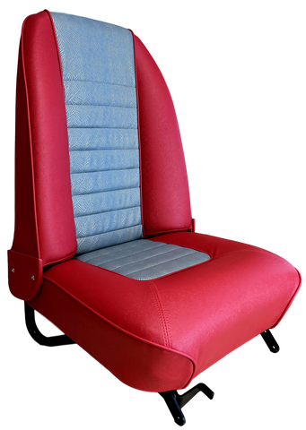 Gold Brocade Recliner MKI Mini Cooper