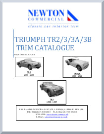 Triumph TR2 - 3 Interior Trim Catalogue