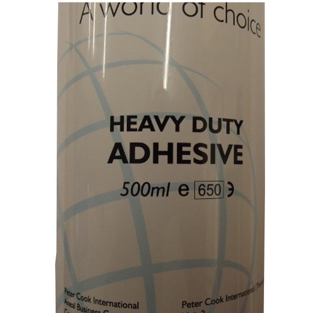 HEAVY DUTY SPRAY ADHESIVE