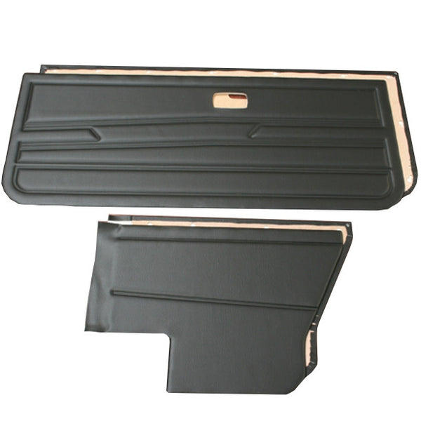 GOLF MK.I SALOON 4 PIECE TRIM PANEL KIT - INERTIA SEATBELTS/ NO SPEAKER HOLES