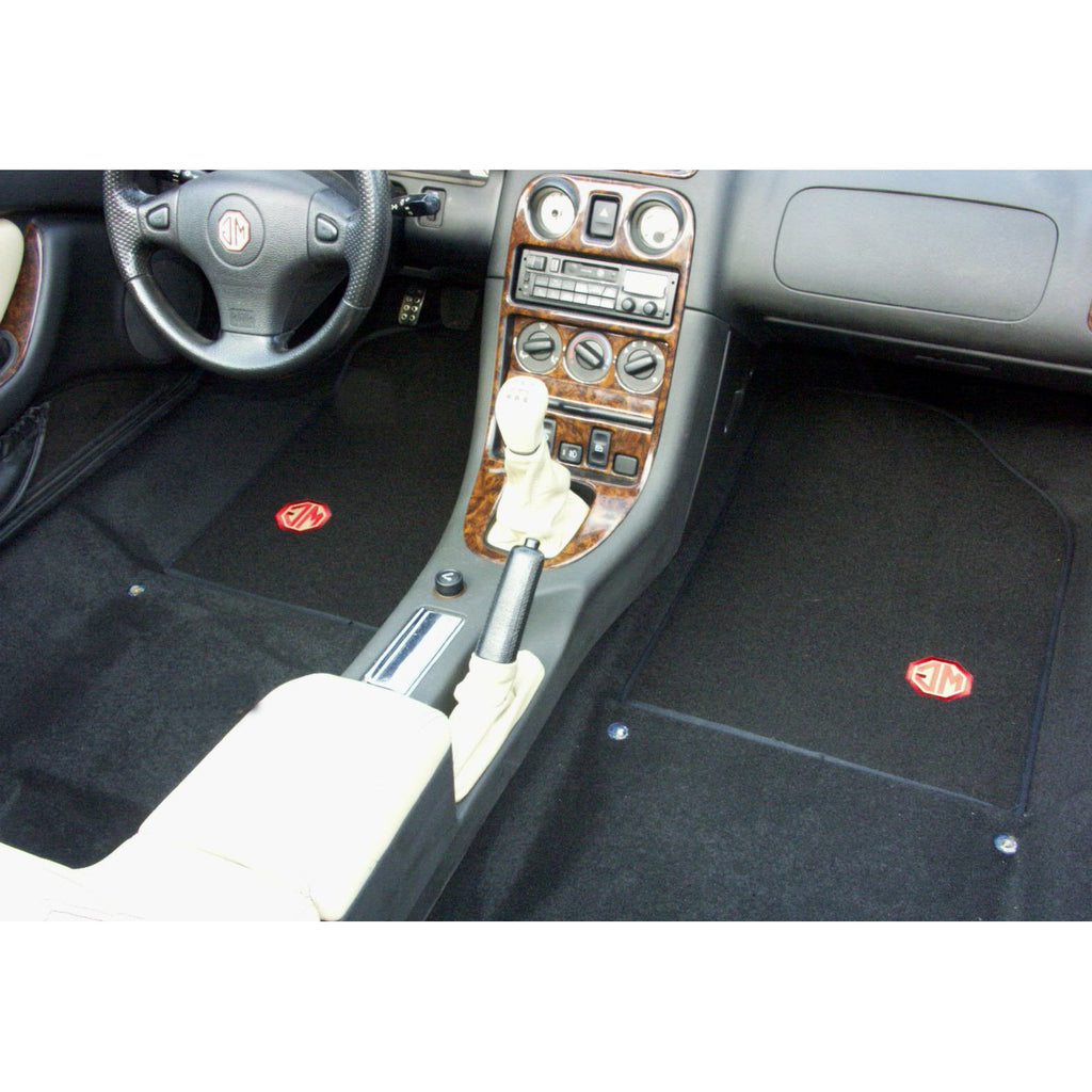 5 piece moulded carpet set - Left Hand Drive - MG TF models