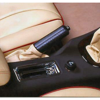 Leather Handbrake Grip and Gaiter Kit