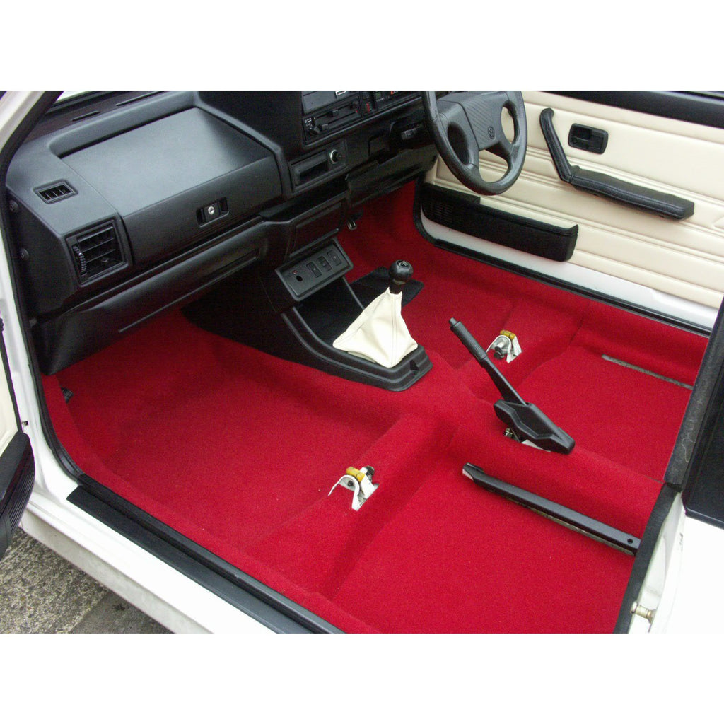 CADDY TWO DOOR SALOON MOULDED CARPET SET-RHD