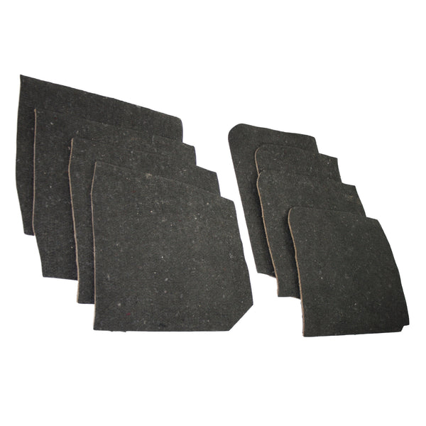 Corrado deluxe underfelt kit - 8 pieces