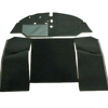4 PIECE CARPET SET FOR SPLIT SCREEN VW CAMPER 1961-1967 LHD NYLON (BENCH SEAT)