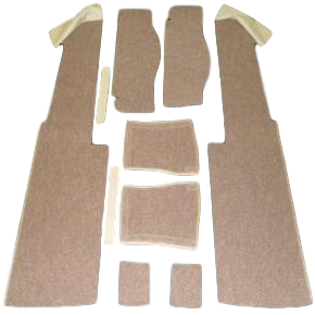 VW TYPE 2 1973-79 FRONT SEAT BOX CARPET KIT