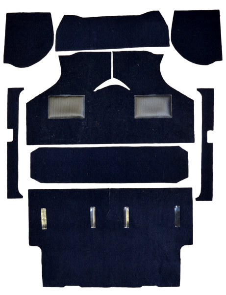 CLUBMAN ESTATE NON MOULDED CARPET SET - 1973 ON