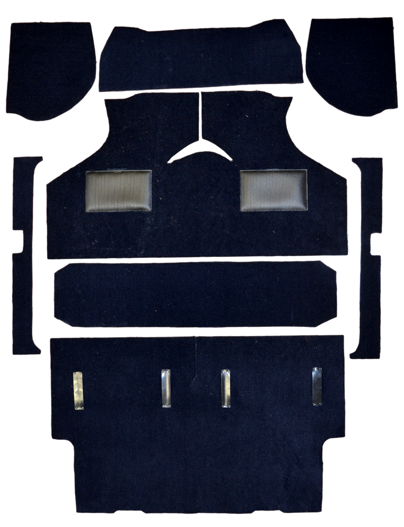 MINI VAN & PICKUP 1973 ONWARDS NON MOULDED CARPET SET