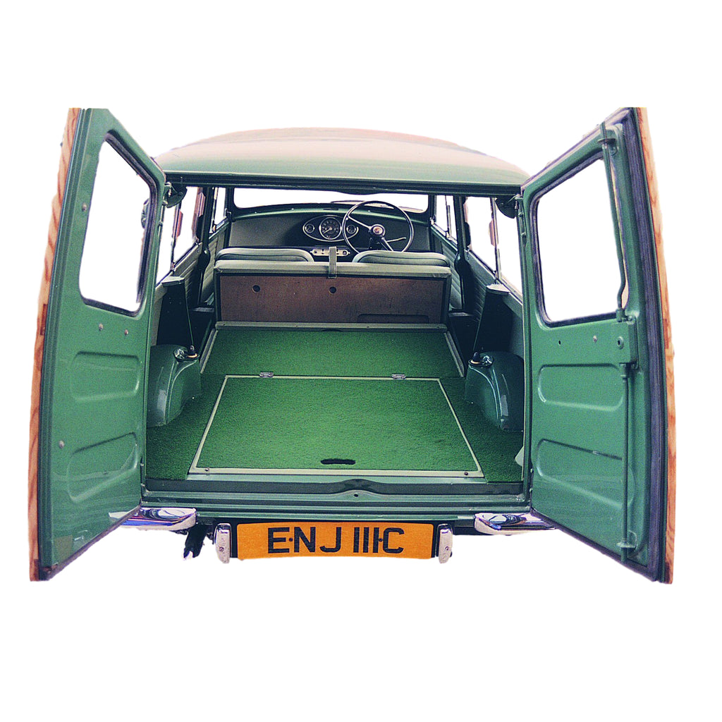 MKI MINI TRAVELLER WITH UNDER FLOOR FUEL TANK REAR LOAD AREA CARPET