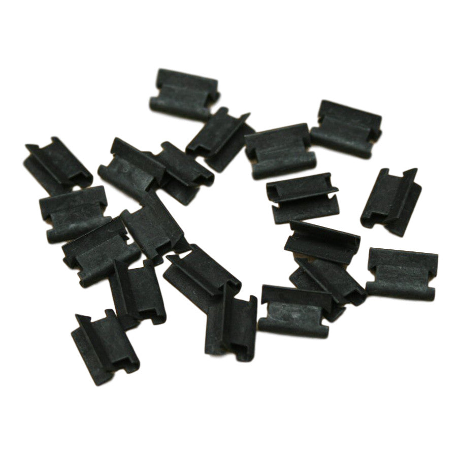 PACKET OF 20 DRAUGHT EXCLUDER CLIPS