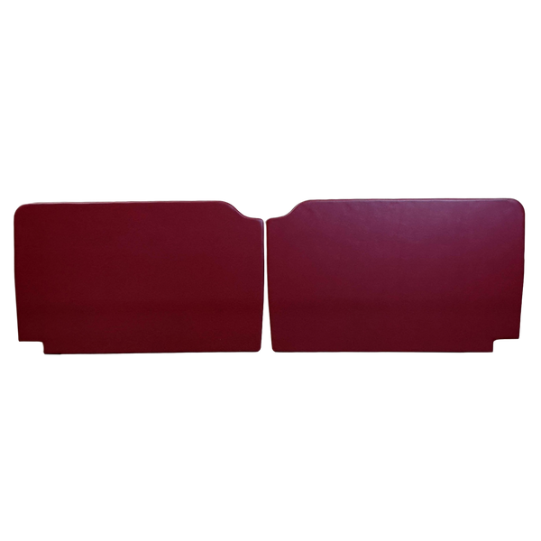 EARLY MINI PAIR OF PLAIN DOOR PANELS