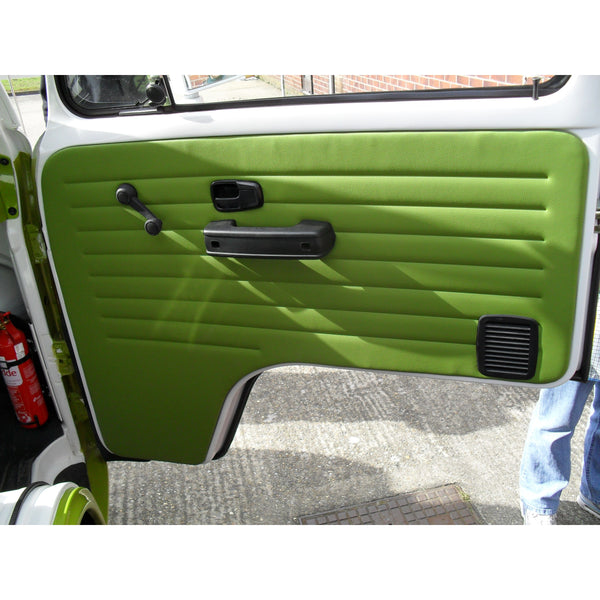 VW TYPE 2 BRAZILIAN IMPORT FRONT DOOR PANELS  VINYL