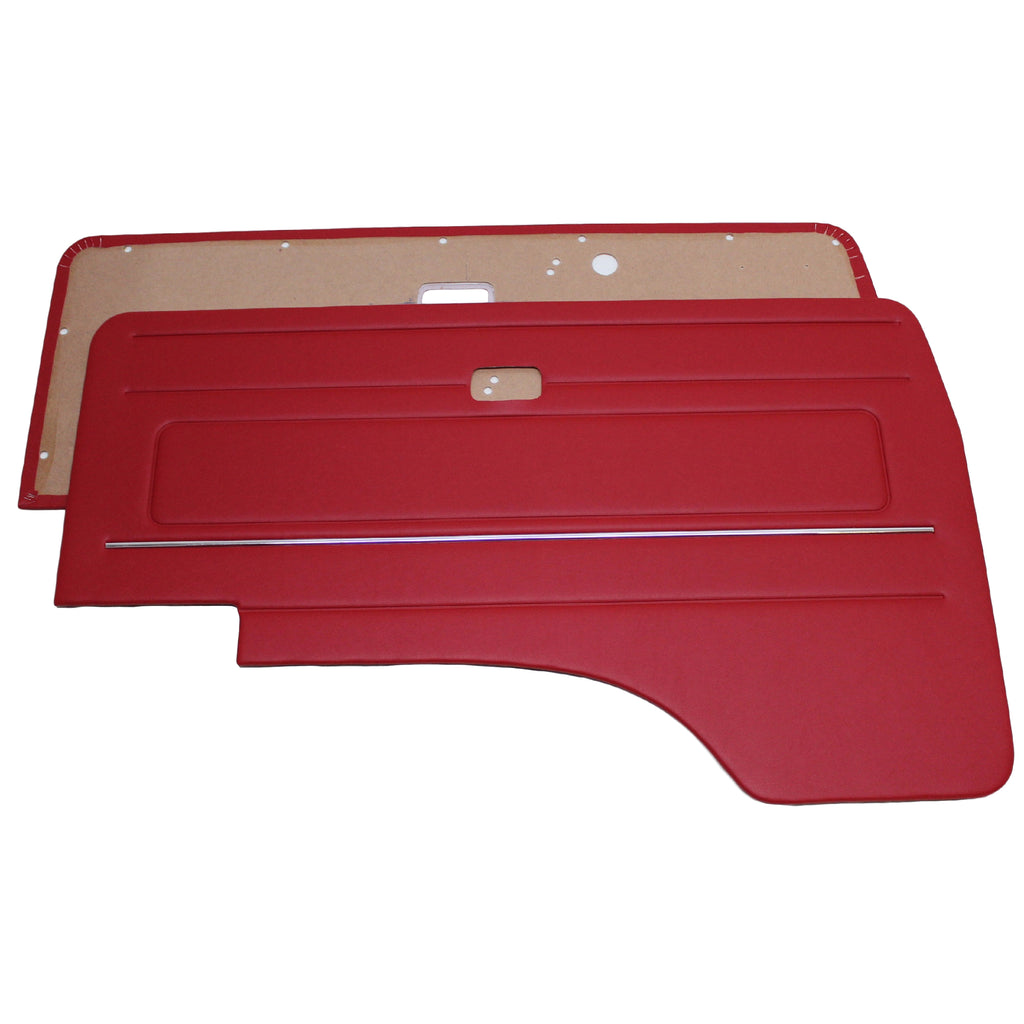 TYPE 25 FRONT DOOR PANELS WITH MANUAL WINDING WINDOWS