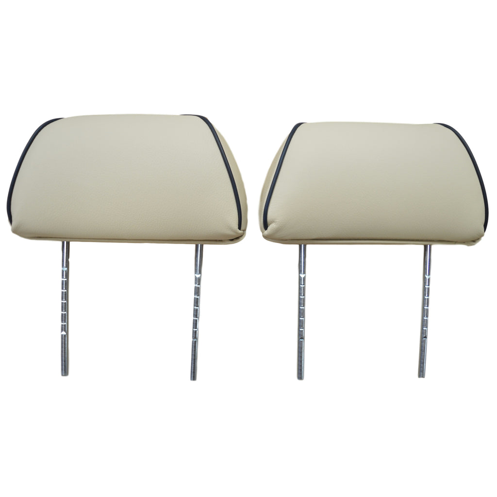 COMPLETE TWIN POST VINYL HEADREST