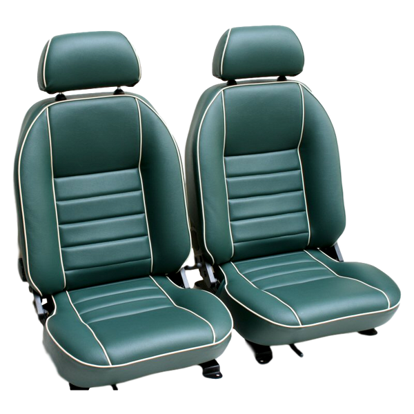 T4 SUFFOLK RECLINING SEAT (LH) VINYL - TO FIT SINGLE SEAT