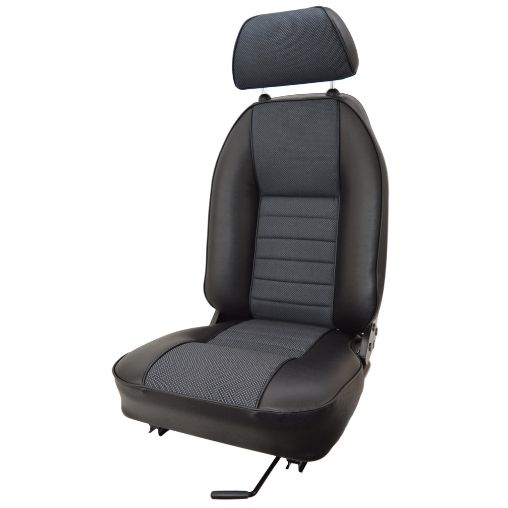 MINI VINYL SUFFOLK RECLINING SEAT - RH