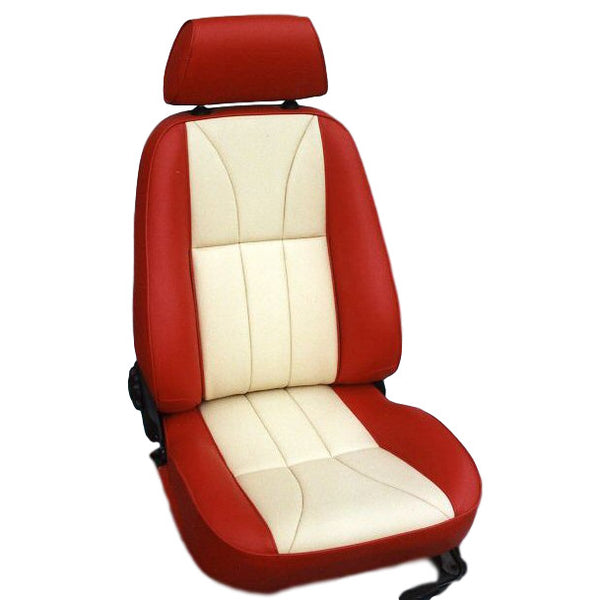 Leather -Front seat covering kit - MGF MK1 Icon Style