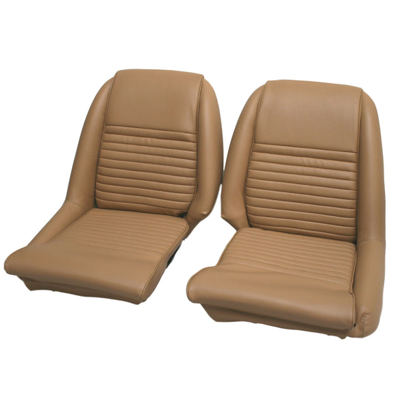 TRIUMPH GT6 MK1 & 2 SEAT COVERING KIT - LOW BACK MODELS-1966-68 VINYL