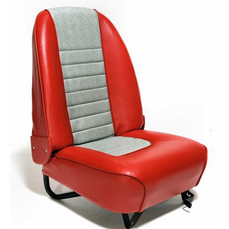 FACTORY RECLINER SEAT COVER KIT - ONE SEAT  1962-67