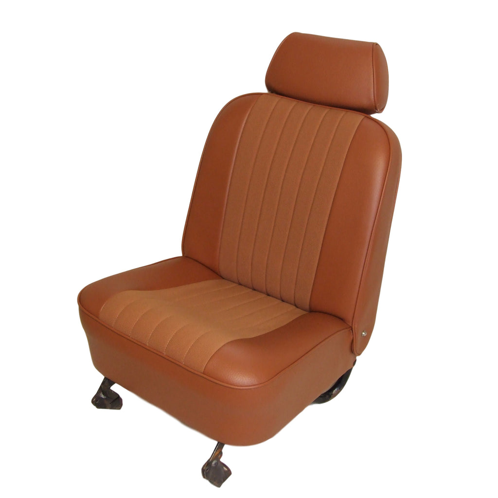 MINI MONTE CARLO CLOTH CENTRE SEAT COVER KIT - RECLINING FRONT SEATS WITH HEADRESTS