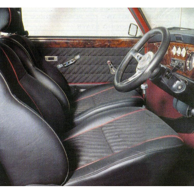 MINI COOPER LIGHTNING CLOTH FRONT SEAT KIT (1993-95)