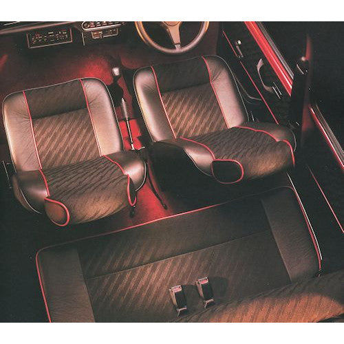 MINI COOPER LIGHTNING CLOTH REAR SEAT KIT