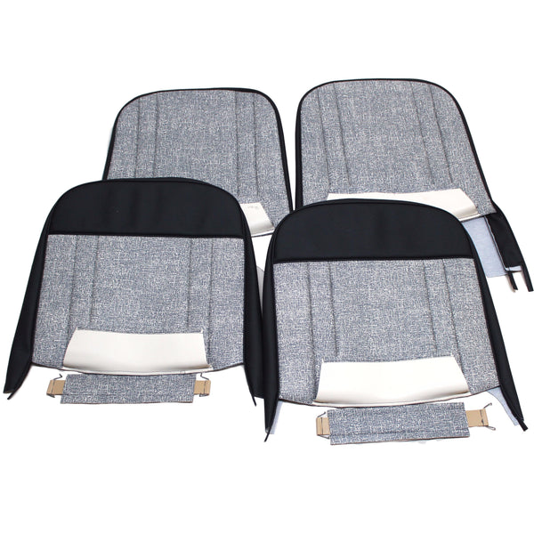 1959 MORRIS MINI FLECK SALOON FRONT SEAT KIT - BOTH SEATS