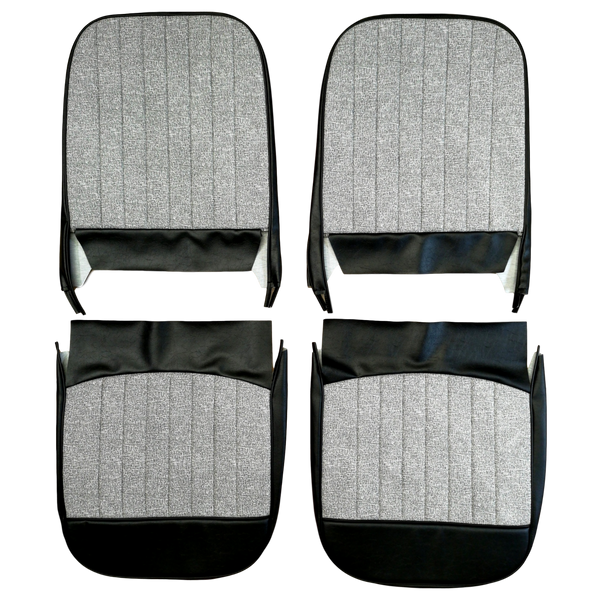 EARLY AUSTIN FRONT SEAT COVERS - SEWN FACES