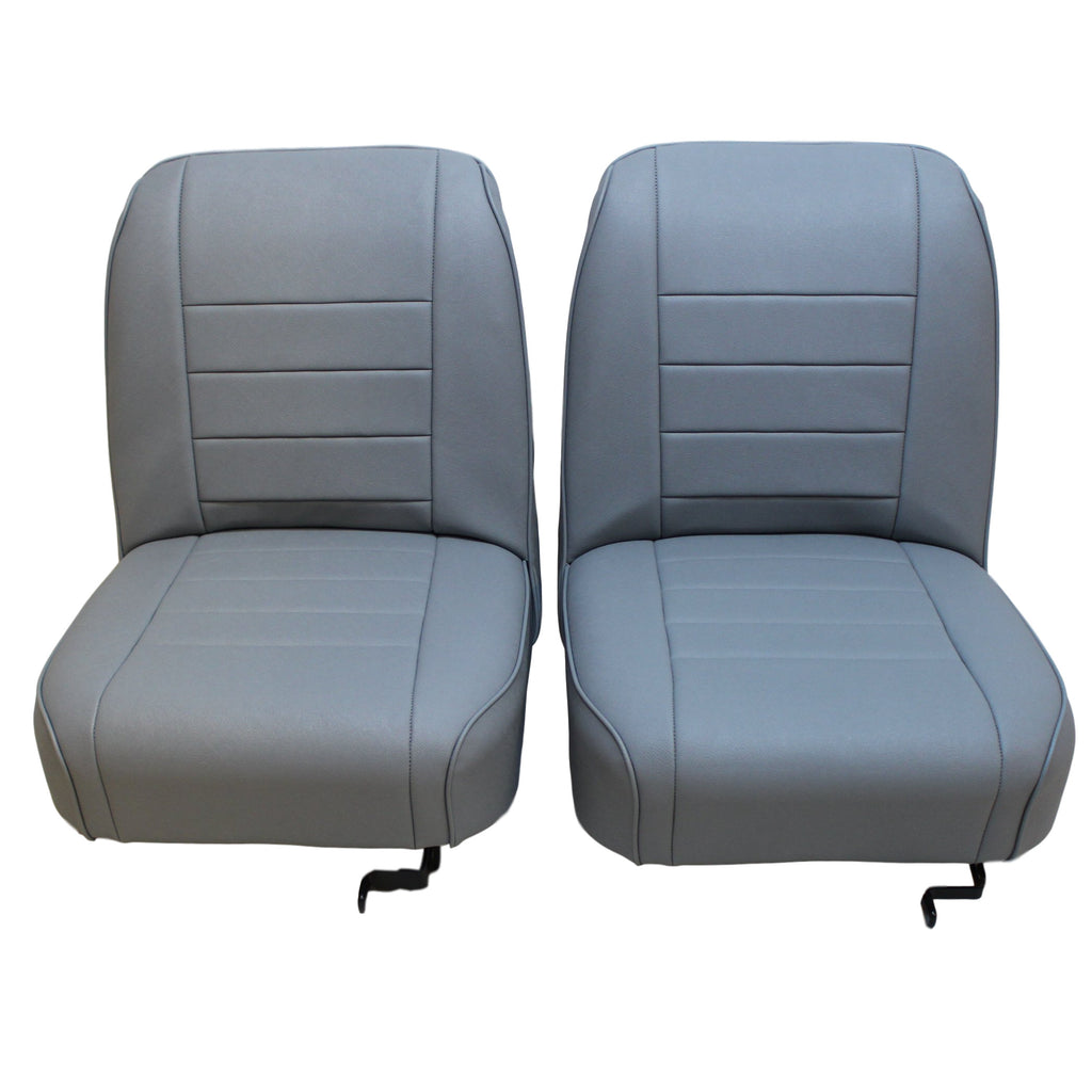 RILEY ELF/ WOLSELEY HORNET MK I & II LEATHER FRONT SEAT COVER KIT