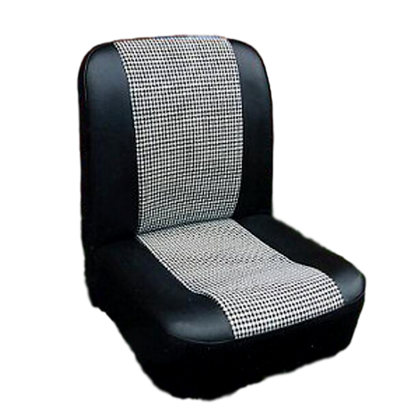 Austin Mini City -Houndstooth Cloth- Front seat covers