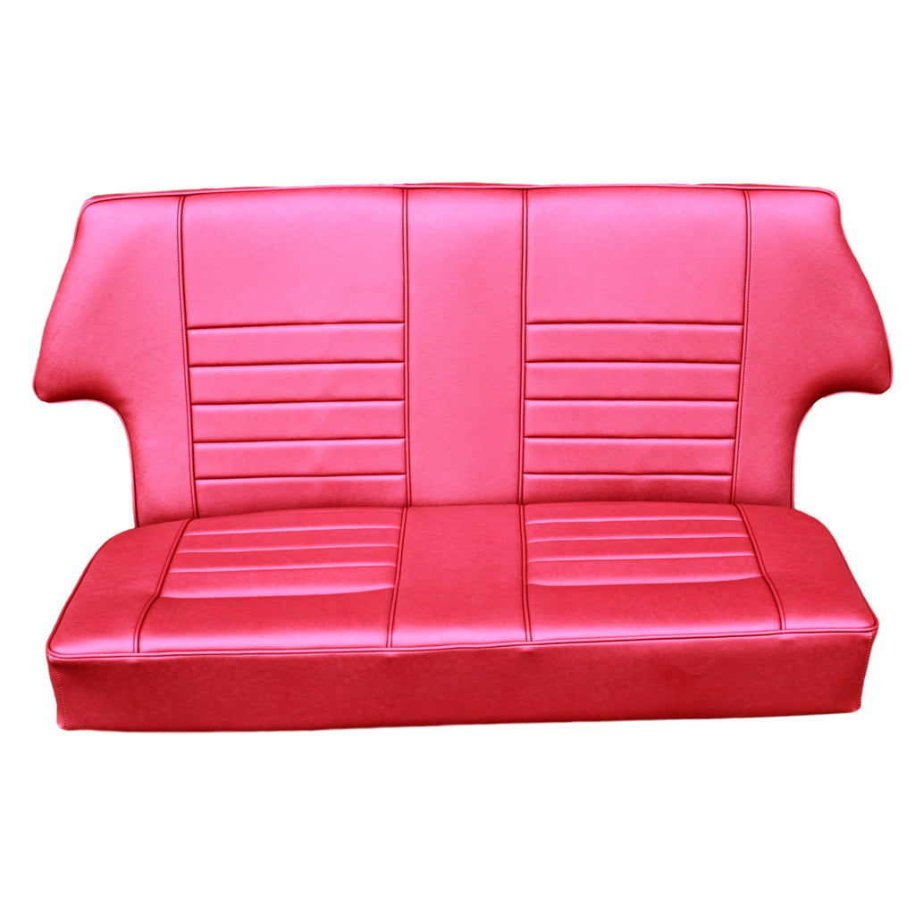 REAR SEAT COMPLETE ASSEMBLY IN LEATHER-ALL SALOONS