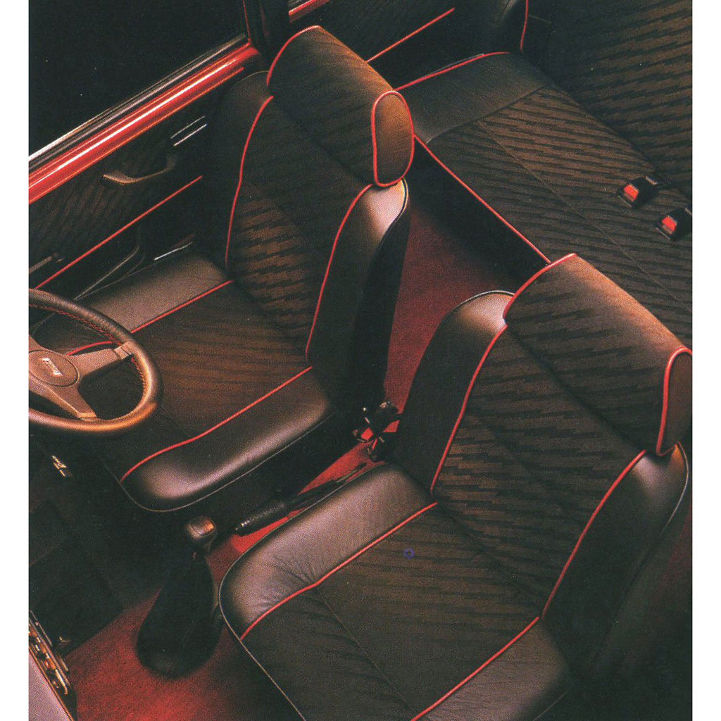 MINI COOPER LIGHTNING CLOTH FRONT SEAT COVERS