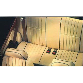 ROVER MINI LEATHER VERTICAL FLUTE REAR SEAT COVER KIT