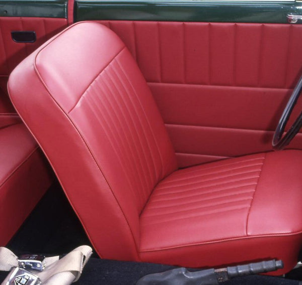 HERALD 1200 & 12/50 & VITESSE 6 FRONT SEAT COVER KIT 1961-70 - (BOTH SEATS)